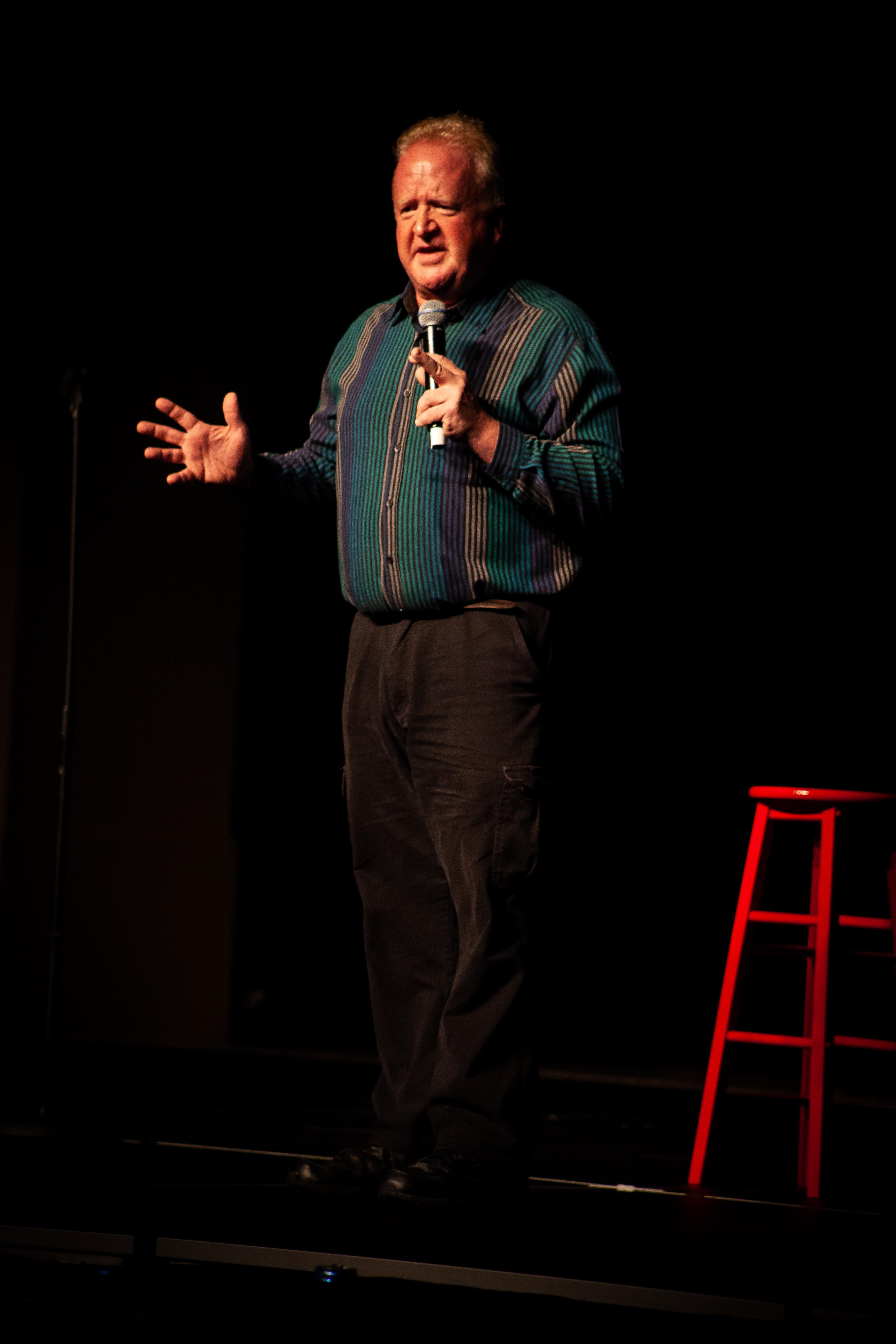 Auggie Cook, Live Comedian