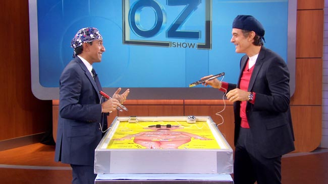 Giant Operation Game, Dr Oz