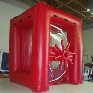 Money Machine Inflatable Novelty, Pittsburgh Entertainment, Money Chamber