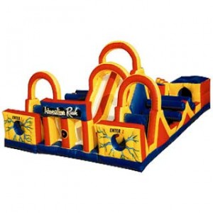 Adrenaline Rush, Obstacle Course, Inflatable