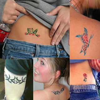 Airbush Tattoos, Creative Art