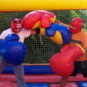 Bouncy Boxing, Inflatable