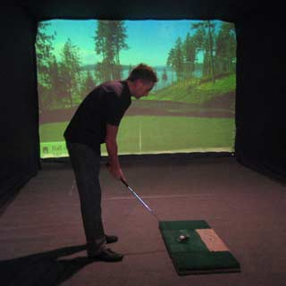 Virtual Reality, Golf Simulator