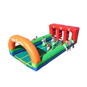 Inflatable Horse Racing, Fun Derby, Bounce
