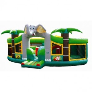 Jungle Adventure Playland Inflatable