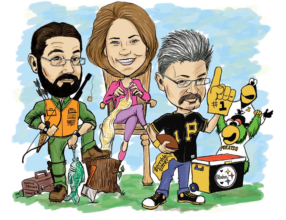 Pittsburgh Caricature Art, talent network, inc., talent agency, booking entertainment