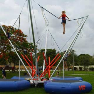 Power Jump, Trampoline, Bungee Jumping, Quad Power Jump