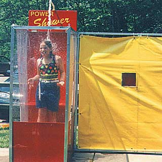 Power Shower Novelty Game