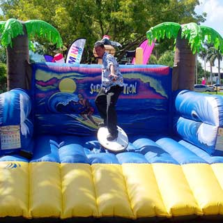 Robo Surfer Inflatable, Novelty