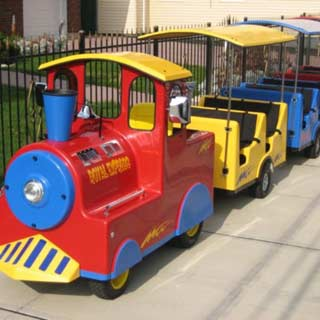Trackless-Train