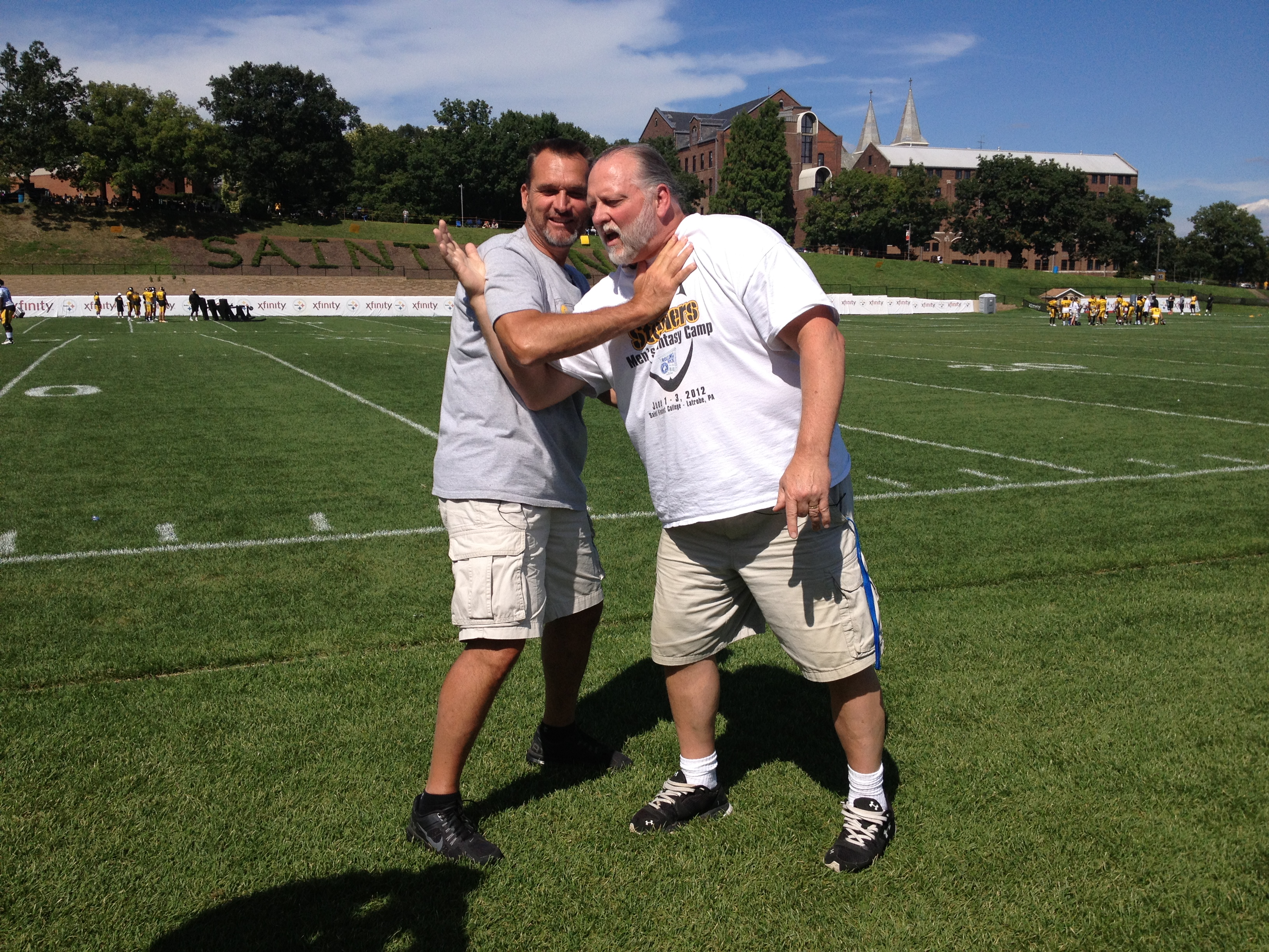 Tunch and Wolf, Pittsburgh Steelers Correspondents, Training Camp