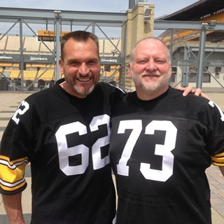dc01afb4c Pittsburgh Steelers   Broadcasters Tunch   Wolf