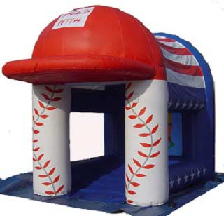 Baseball Speed Pitch, Inflatable, Pittsburgh entertainment
