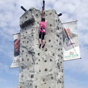 Climb Pittsburgh, Venture Outdoors, Rock Wall