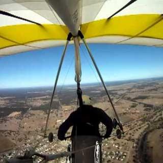 Virtual Reality, Hang gliding Simulator