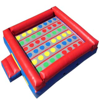 Inflatable giant Twister game, Pittsburgh rental, entertainment idea, oversized game