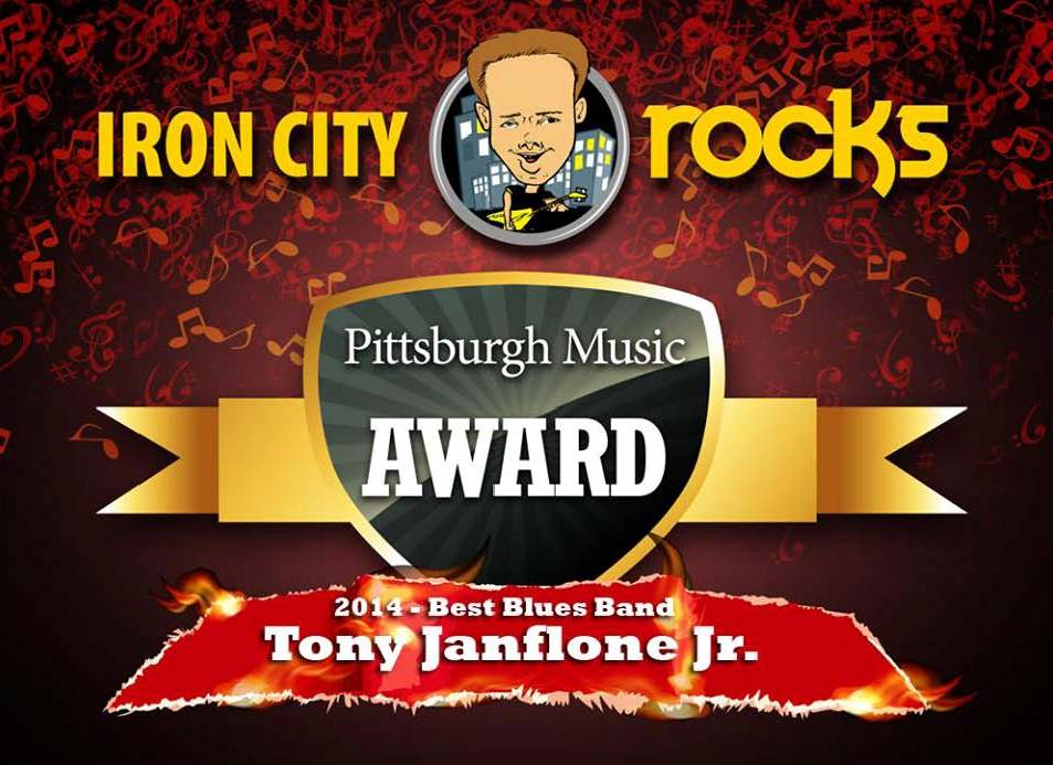 Pittsburgh Music Award, Tony Janflone Jr.