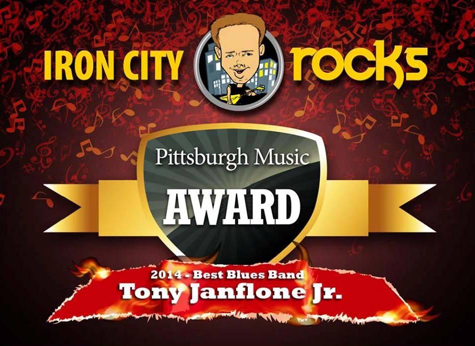Pittsburgh Music Award, Tony Janflone Jr.