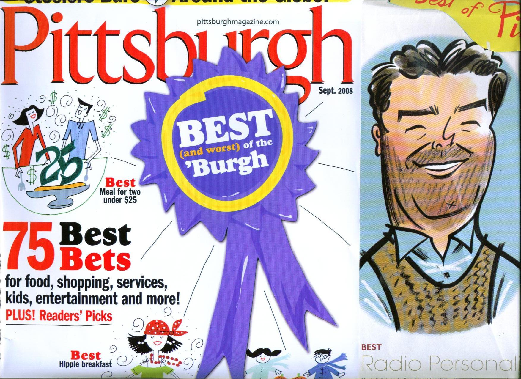 Jimmy Krenn, Pittsburgh Personality