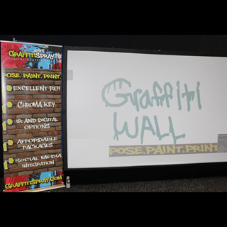 Digital Graffiti Wall, Novelty Entertainment, Creative Entertainment Pittsburgh
