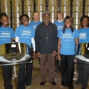 Steel Impressions, steel drum band, island music