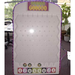 Giant Plinko, Oversized Game, Casino Entertainment
