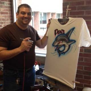 Airbrush T-Shirts, Fun Novelty Idea