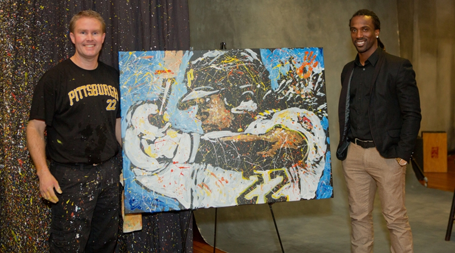 George Williams, Andrew McCutchen, Pittsburgh Pirates, Speed Painting