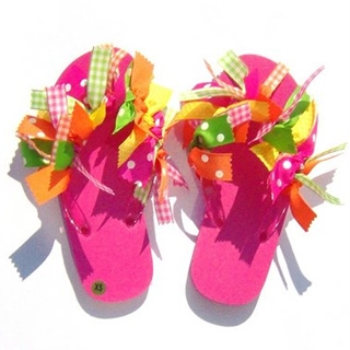 Create your Own, Flip Flops, Creative Idea