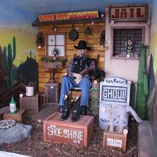 Shooting Gallery Novelty, Old West Theme
