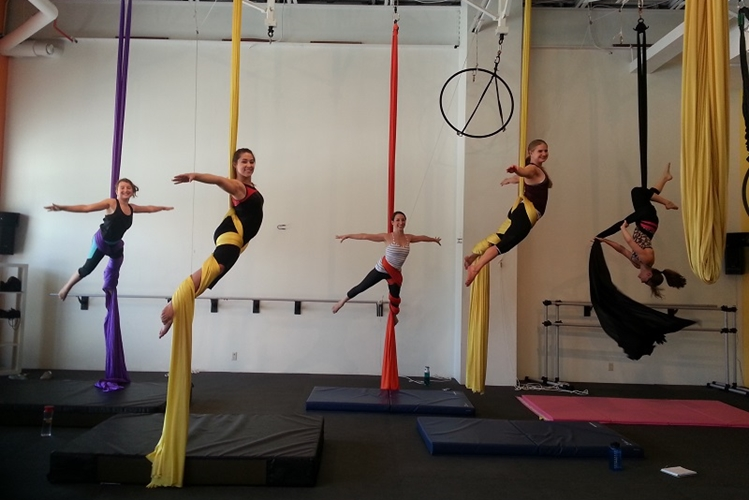 Iron City Aerial, Interactive Workshop, Aerial Class
