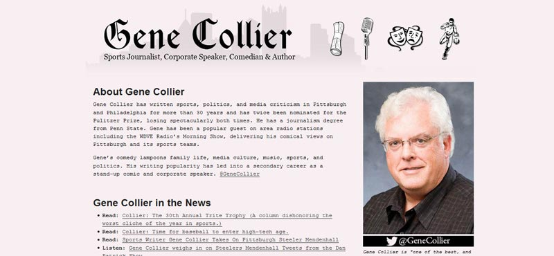 Sports Journalist Gene Collier