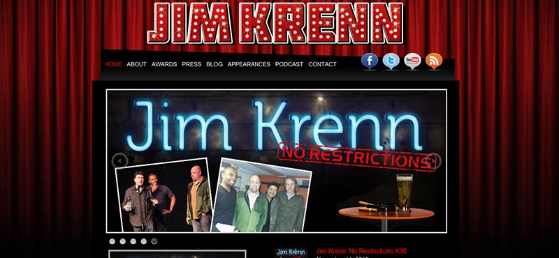 Pittsburgh Comedia Jim Krenn