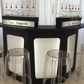 Airheads Booth, Oxygen Bar
