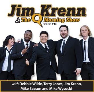 Jim Krenn and the Q Morning Show