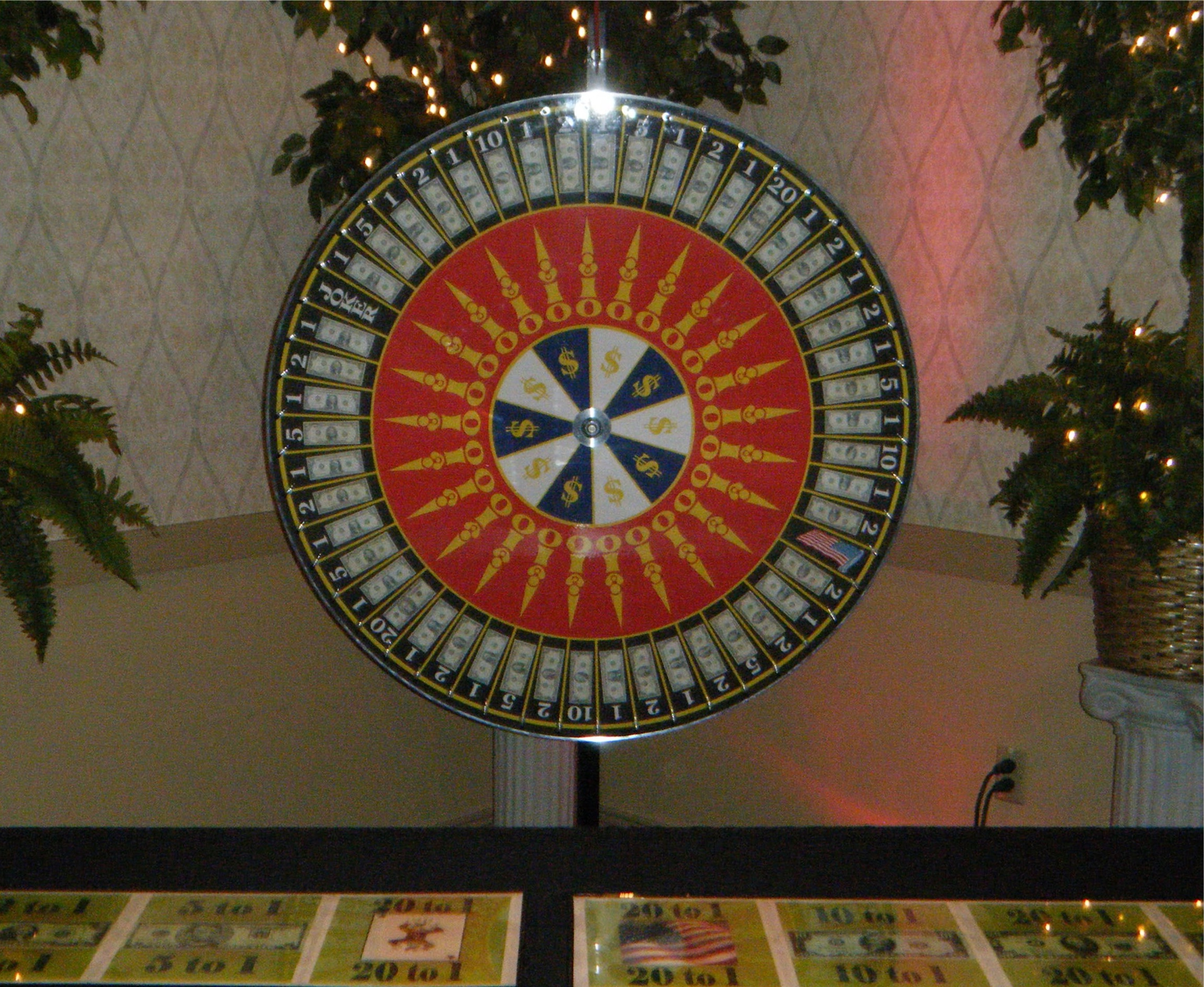 Money Wheel, Casino Wheel, Monte Carlo Night, Pittsburgh Entertainment