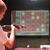 Laser Shooting Gallery, Carnival Game