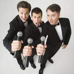 Three Waiters, Singing Trio