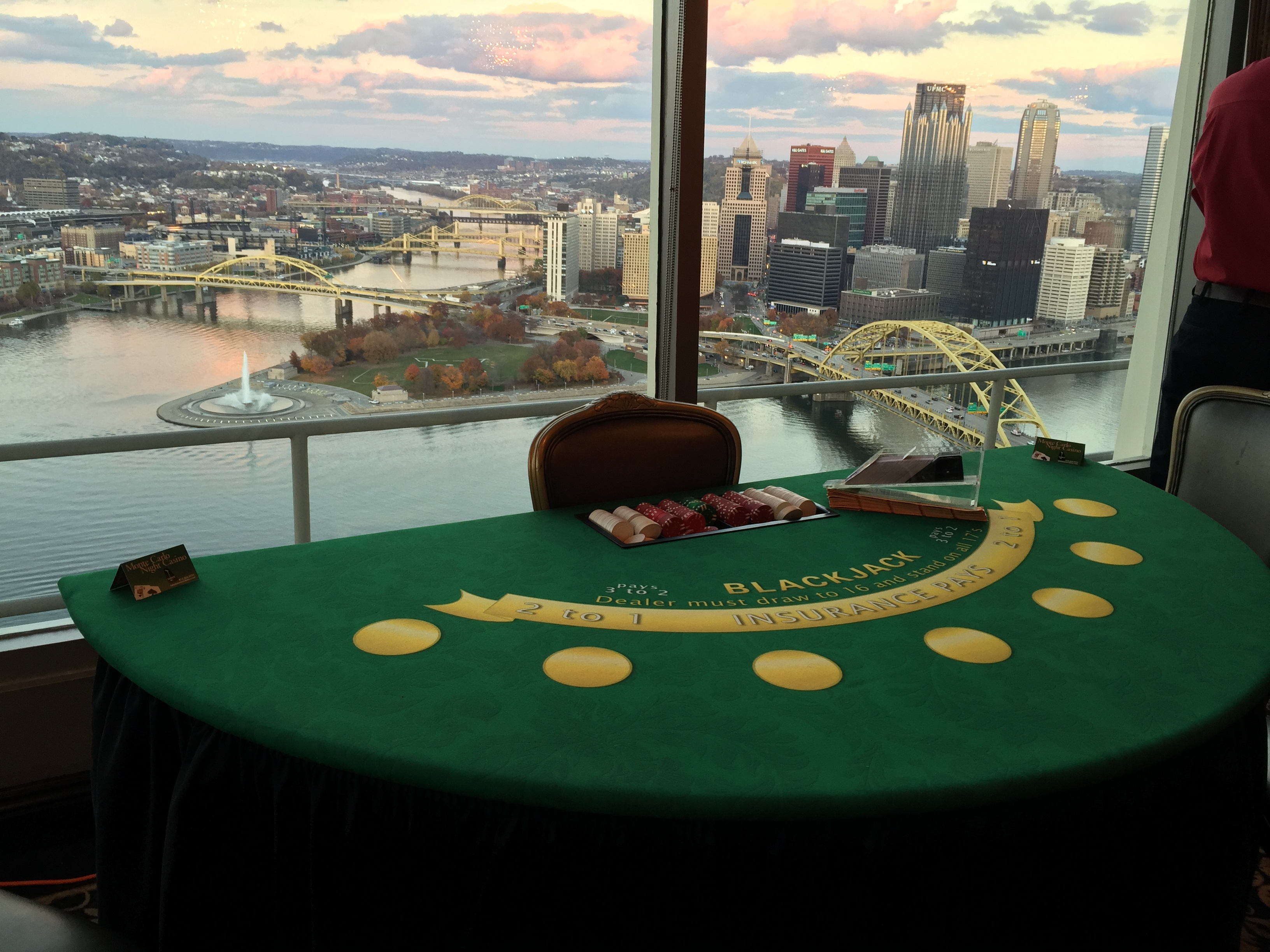 Blackjack, Pittsburgh Casino Party, Casino Theme Night