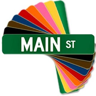 Make your own Street Signs, creative ideas Pittsburgh
