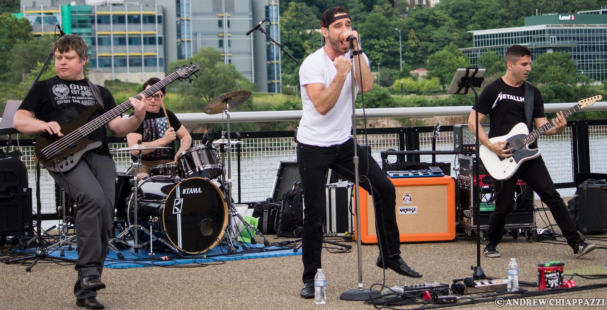 Identity X, live band Pittsburgh