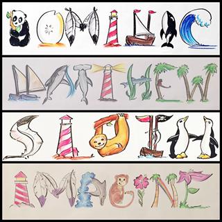 Nature's Name Word Art, Creative Entertainment