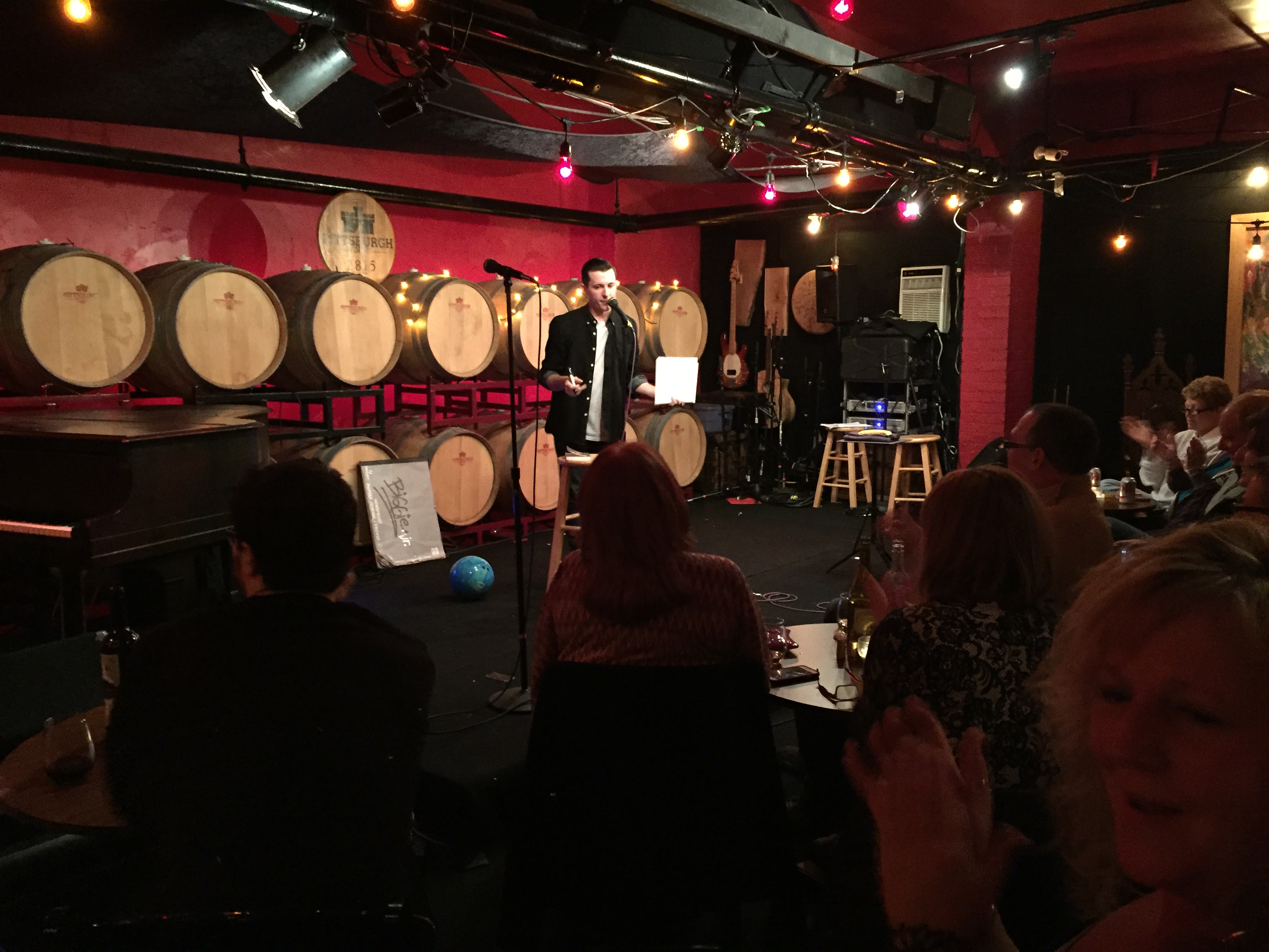 Pittsburgh Magician Lee Terbosic at the Pittsburgh Winery