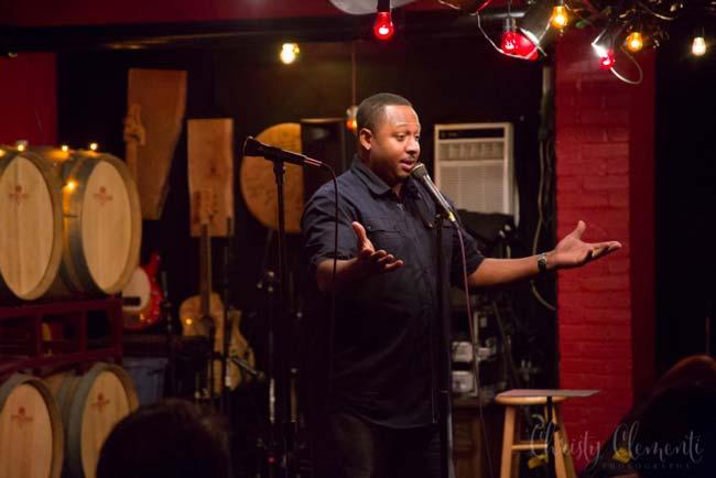 Black Pittsburgh Comedian T-Robe, Pittsburgh Winery