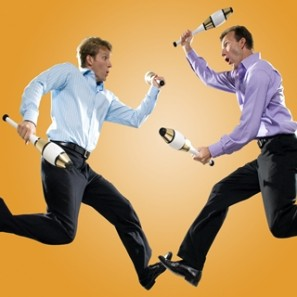 The Passing Zone, Corporate Entertainment, Jugglers