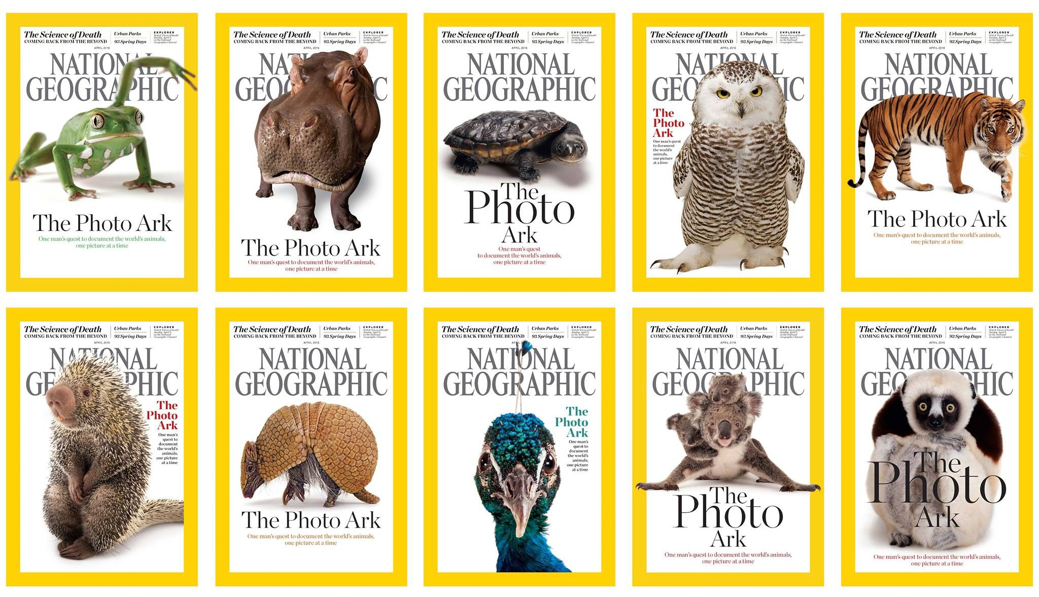 Joel Sartore, National Geographic Photographer