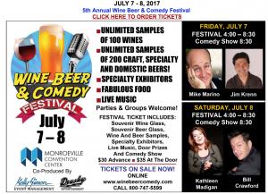Wine and Comedy Festival