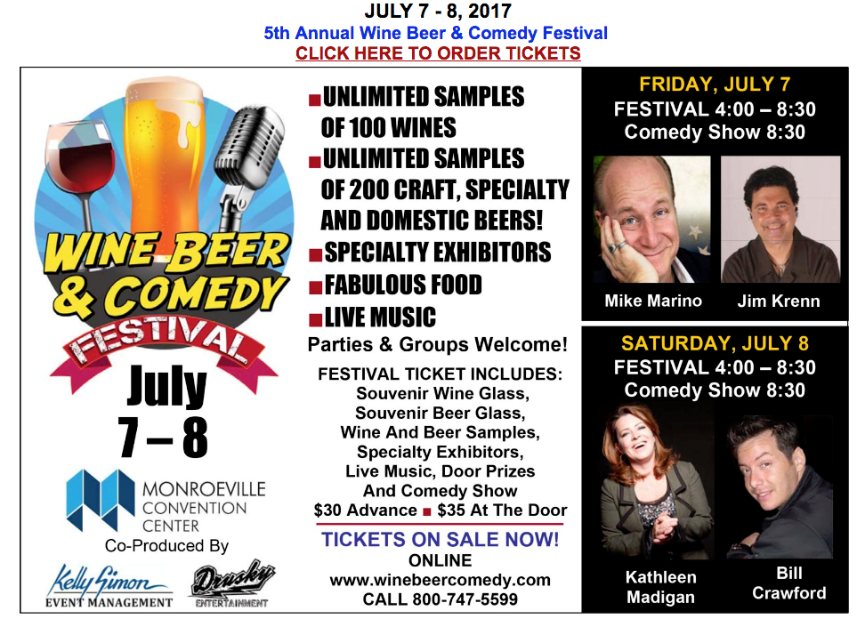 Wine and Comedy Festival