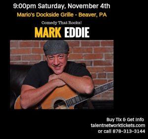 Mark Eddie, Rock Comic, Pittsburgh Entertainment