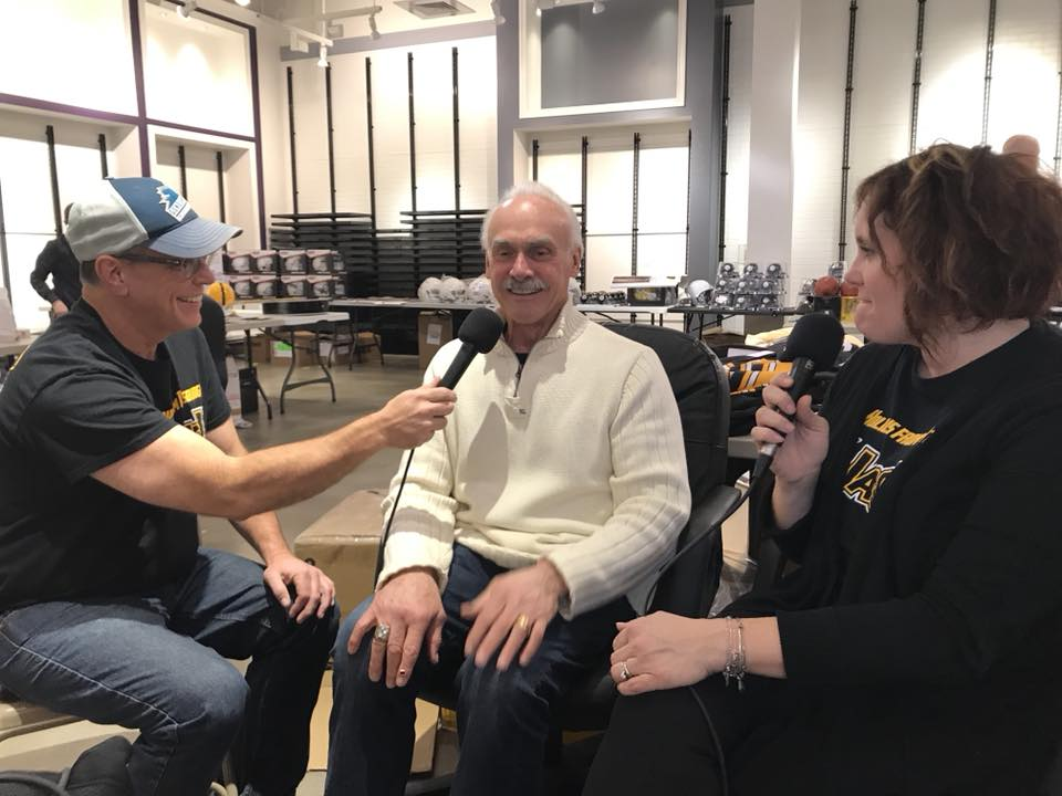 rocky bleier yajagoff podcast total sports enterprises